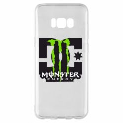 Чохол для Samsung S8+ Monster Energy DC