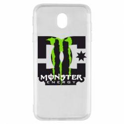 Чохол для Samsung J7 2017 Monster Energy DC