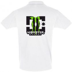 Футболка Поло Monster Energy DC