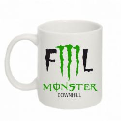 Кружка 320ml Monster Energy Downhill - FatLine