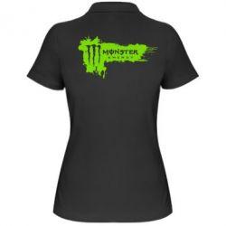 Женская футболка поло Monster Energy Drink - FatLine