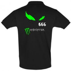 Футболка Поло Monster Energy Eyes 666