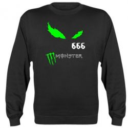 Реглан (свитшот) Monster Energy Eyes 666