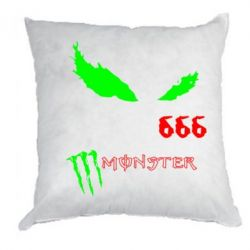 Подушка Monster Energy Eyes 666
