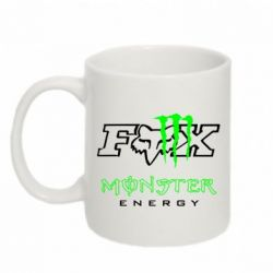 Кружка 320ml Monster Energy Fox Logo