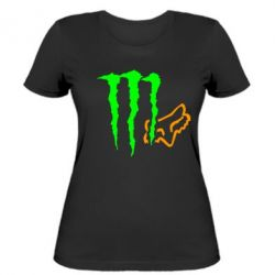 Жіноча футболка Monster Energy FoX