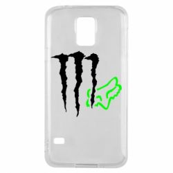 Чохол для Samsung S5 Monster Energy FoX
