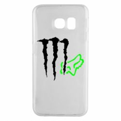 Чохол для Samsung S6 EDGE Monster Energy FoX
