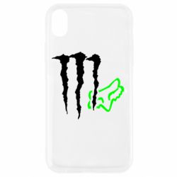 Чохол для iPhone XR Monster Energy FoX