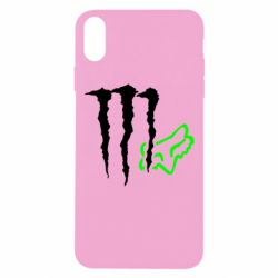 Чохол для iPhone Xs Max Monster Energy FoX