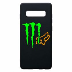 Чохол для Samsung S10+ Monster Energy FoX