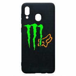 Чохол для Samsung A20 Monster Energy FoX