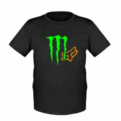 Дитяча футболка Monster Energy FoX