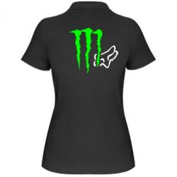 Жіноча футболка поло Monster Energy FoX