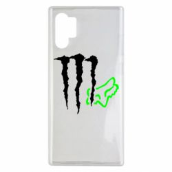 Чохол для Samsung Note 10 Plus Monster Energy FoX