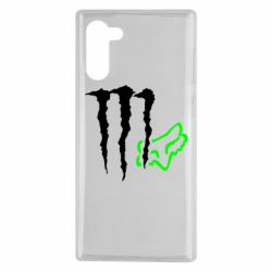 Чохол для Samsung Note 10 Monster Energy FoX