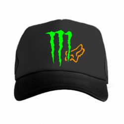 Кепка-тракер Monster Energy FoX