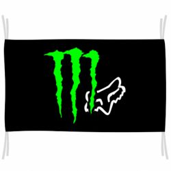 Прапор Monster Energy FoX