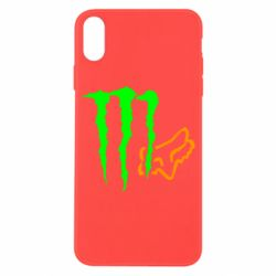 Чохол для iPhone X/Xs Monster Energy FoX