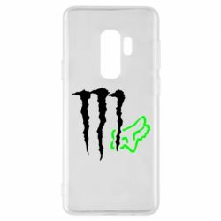Чохол для Samsung S9+ Monster Energy FoX