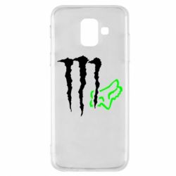 Чохол для Samsung A6 2018 Monster Energy FoX