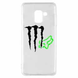 Чохол для Samsung A8 2018 Monster Energy FoX