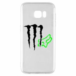 Чохол для Samsung S7 EDGE Monster Energy FoX