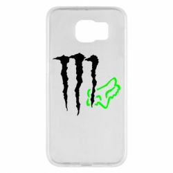 Чохол для Samsung S6 Monster Energy FoX