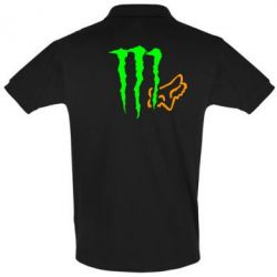 Футболка Поло Monster Energy FoX