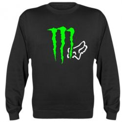 Реглан (свитшот) Monster Energy FoX - FatLine