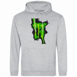Толстовка Monster Energy green - FatLine