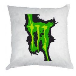Подушка Monster Energy green - FatLine