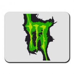 Коврик для мыши Monster Energy green - FatLine