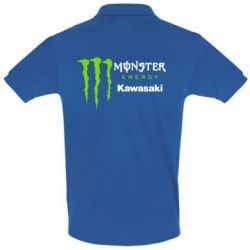 Купить Футболка Поло Monster Energy Kawasaki, FatLine