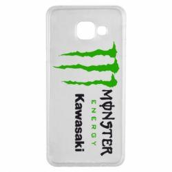 Чохол для Samsung A3 2016 Monster Energy Kawasaki