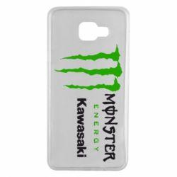 Чохол для Samsung A7 2016 Monster Energy Kawasaki