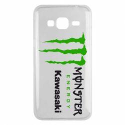 Чохол для Samsung J3 2016 Monster Energy Kawasaki