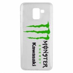 Чохол для Samsung J6 Monster Energy Kawasaki