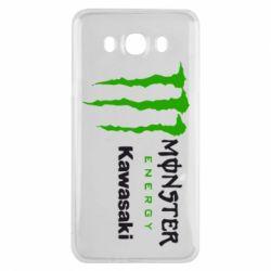 Чохол для Samsung J7 2016 Monster Energy Kawasaki