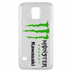 Чохол для Samsung S5 Monster Energy Kawasaki