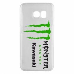 Чохол для Samsung S6 EDGE Monster Energy Kawasaki