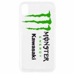 Чохол для iPhone XR Monster Energy Kawasaki