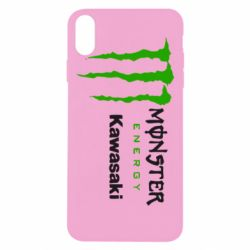 Чохол для iPhone Xs Max Monster Energy Kawasaki