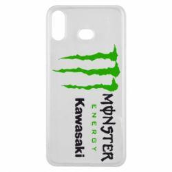 Чохол для Samsung A6s Monster Energy Kawasaki