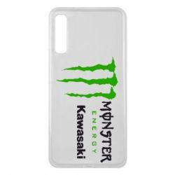 Чохол для Samsung A7 2018 Monster Energy Kawasaki
