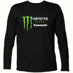 Купить Футболка с длинным рукавом Monster Energy Kawasaki, FatLine