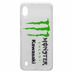 Чохол для Samsung A10 Monster Energy Kawasaki