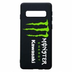 Чохол для Samsung S10 Monster Energy Kawasaki