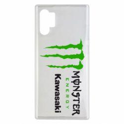Чохол для Samsung Note 10 Plus Monster Energy Kawasaki
