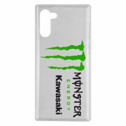 Чохол для Samsung Note 10 Monster Energy Kawasaki